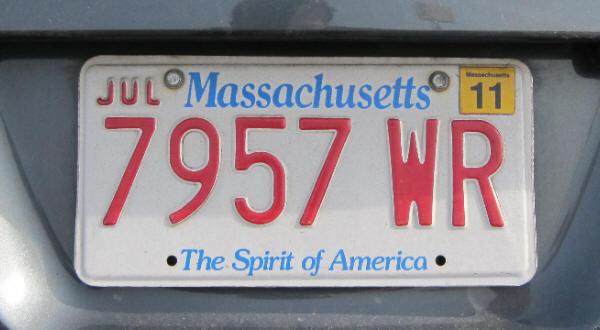Ma Car Registration: USA Massachusetts
