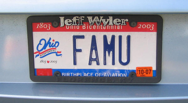 Ohio Get License Plates New Car