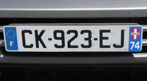 current passenger series since 15th april 2009 in black on white the registration consists of two letters followed by a hyphen three numerals