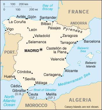Cartina Alicante Spagna.Spanje Frames